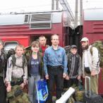 Казанский вокзал. Вернулись без потерь.