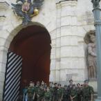 Посетили Петропавловскую крепость...