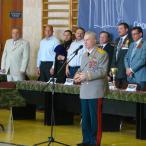 Легендарный командир «Альфы», герой Советского Союза генерал-майор Г.Н. Зайцев пожелал участникам быть настоящими гражданами своей Родины