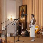 Руководитель проекта Елена Олеговна Еремеичева приветствует участников