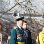 Перед собравшимися выступили ветераны различных войн