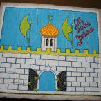 Напоследок всем был подарен торт