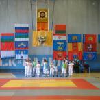На следующий день выступали детский коллектив «Ералаш» из поселка Загорские Дали...