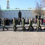 ...а сами юбиляры и их гости отправились в Московскую Православную Духовную Академию для продолжения празднования